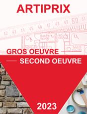 Bordereau de prix gros oeuvre / second oeuvre