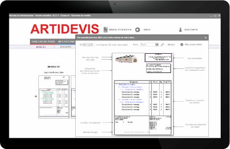 logiciel devis factures avec documents personnalisés