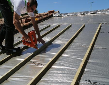 Triso super 12 la solution d isolation 3 en 1 id ale en toiture - Triso super 12 boost ...