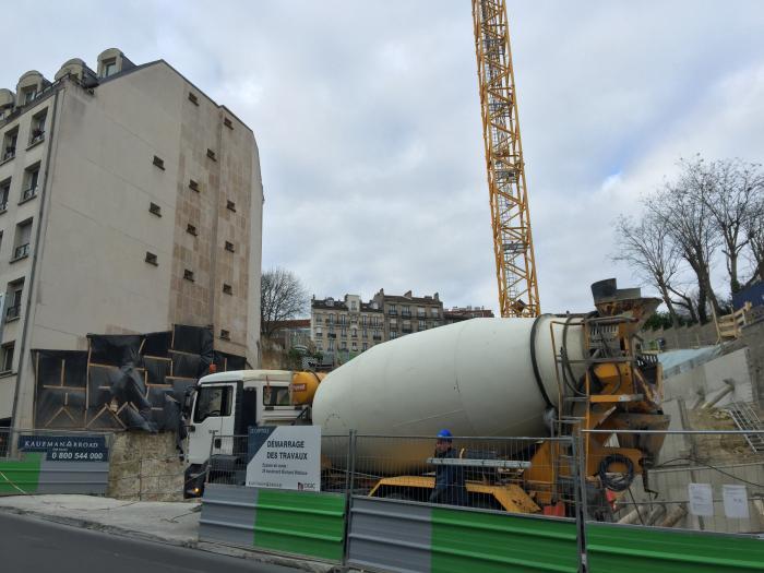 Mat riaux de construction la chute enray e industrie n goce - Materiaux de construction innovants ...