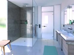 rev tement de douche wedi fundo top lu produit du btp 2017 par. Black Bedroom Furniture Sets. Home Design Ideas