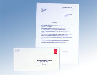 exemple de lettre a envoyer