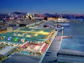 Un centre commercial g ant en projet marseille architecture - Centre commercial les terrasses du port marseille ...