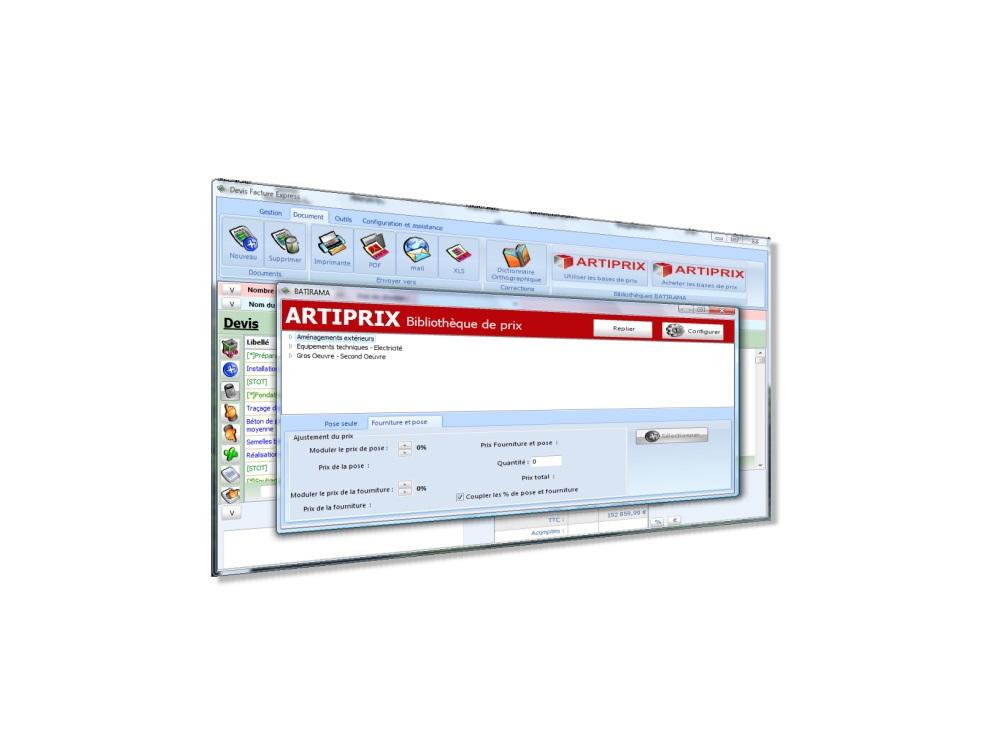 Devis facture express logiciel simple et puissant pour Devis artisans