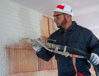 Enduit int rieur application manuelle ou m canis e for Enduit isolant thermique interieur