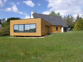 Prix extension bois 40m2 for Cout extension maison 40m2