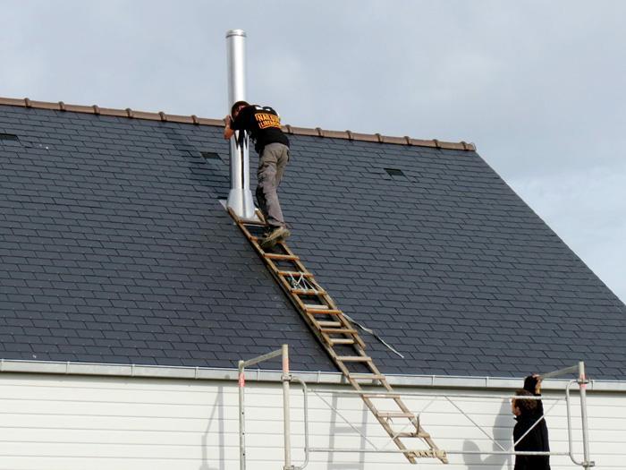 Conduits de fum e la haute technologie march actualit s - Reglementation conduit de cheminee exterieur ...