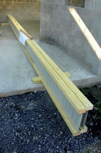 Poutres bois composites des solutions performantes solutions for Comment traiter les poutres en bois