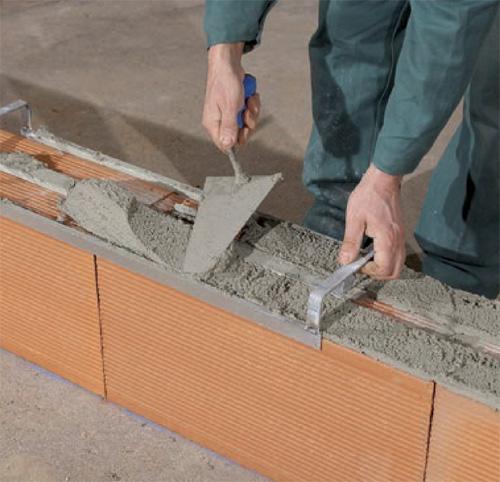 La brique de terre cuite les volutions du dtu - Montage brique de verre exterieur ...