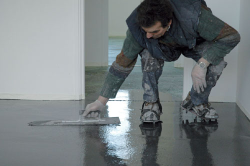 R aliser un b ton cir color mise en oeuvre rev tements de sols - Epaisseur beton cire ...