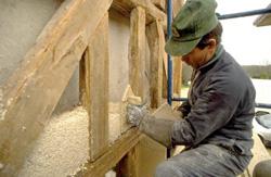 B ton de chanvre pour le neuf et la r novation solutions for Difference entre beton et ciment