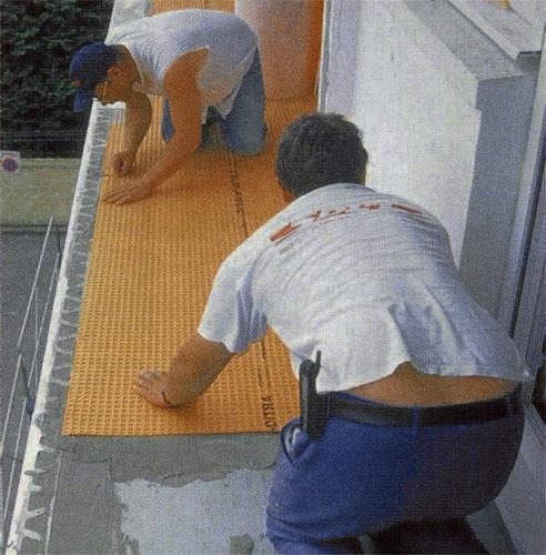 Infiltrations d'eau  une natte sauve quatre balcons