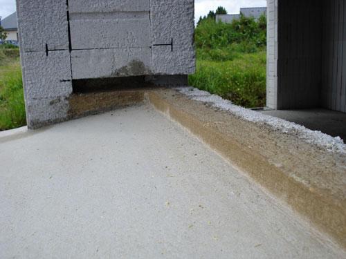 Blocs de coffrage le confort thermique mise en oeuvre ma onnerie - Comment faire un appui de fenetre en beton ...