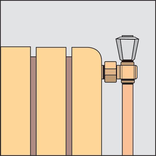 Installation robinet thermostatique - Changer une vanne thermostatique ...