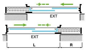 S3 coulissant galandage la porte fen tre escamotable for Epaisseur cloison pour porte a galandage