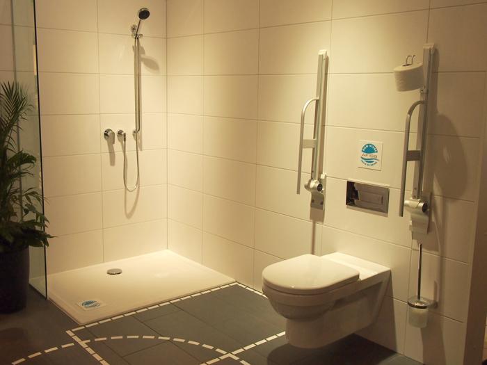 L 39 accessibilit des salles de bains solutions equipements for Salle de bain douche wc