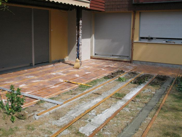 Quels rev tements pour am nager une terrasse solutions for Poser du carrelage sur une terrasse