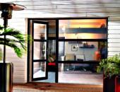 porte fen tre bicolore pvc fen tres menuiseries et 16477p1. Black Bedroom Furniture Sets. Home Design Ideas