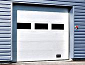 Crawford 542 aluminium portes de garage sectionnelles 25765p1 for Porte garage sectionnelle crawford