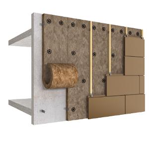 Quelle isolation thermique par l ext rieur en fa ades for Enduire un mur en pierre exterieur