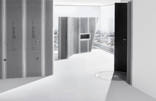 panneaux de wedi best les des panneaux de salle de bain. Black Bedroom Furniture Sets. Home Design Ideas