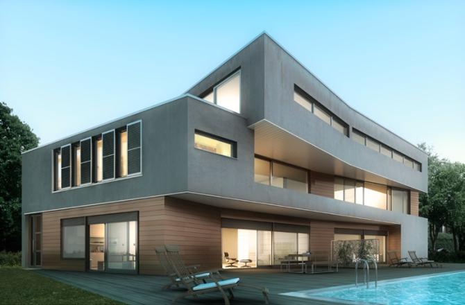 Une solution esth tique et durable pour l isolation par for Couleur exterieur maison tendance 2013