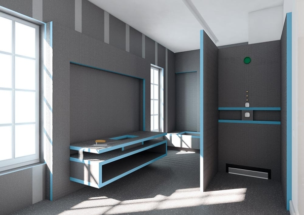 gagner en libert d am nagement avec le panneau de salle de bain. Black Bedroom Furniture Sets. Home Design Ideas