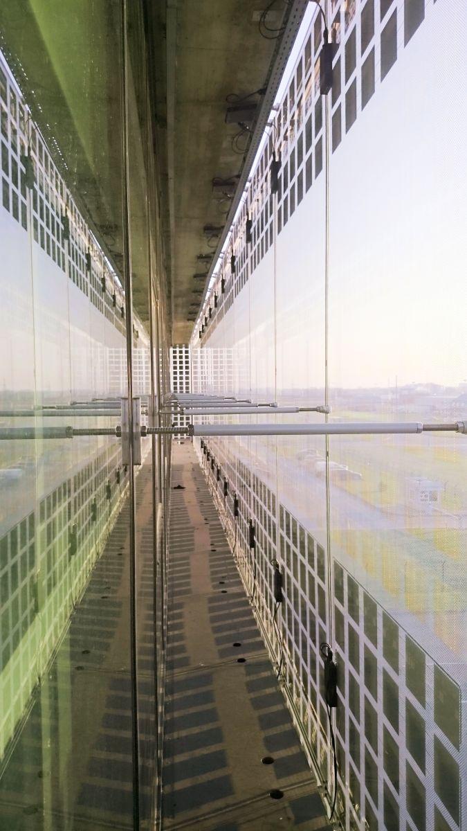 Le projet SmartFlex a abouti au test en grandeur réelle d une double  façade, dont la peau extérieure est équipée de cellules photovoltaïques  espacées pour ... dfd5ecea0175