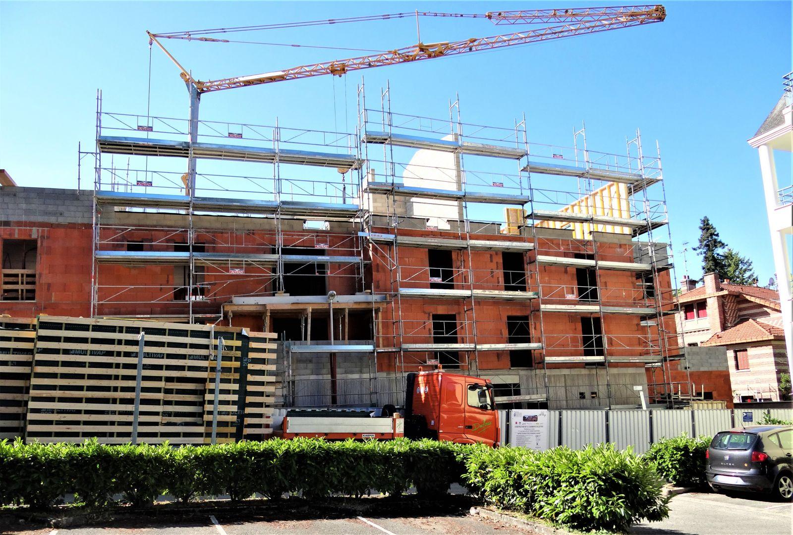 Beton De Synthese Avis une résidence exemplaire utilise 80 tonnes de béton recyclé