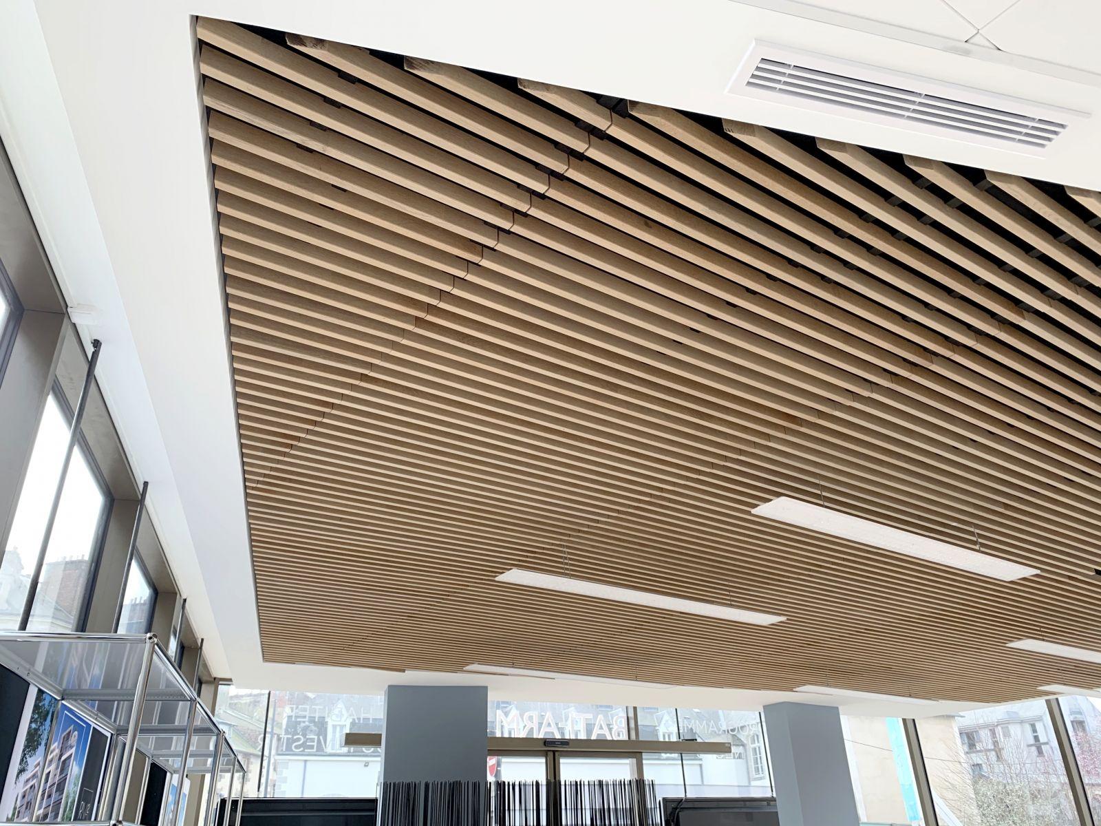 Les Faux Plafonds En Bois Faciles A Poser Seuls Technique Innovation