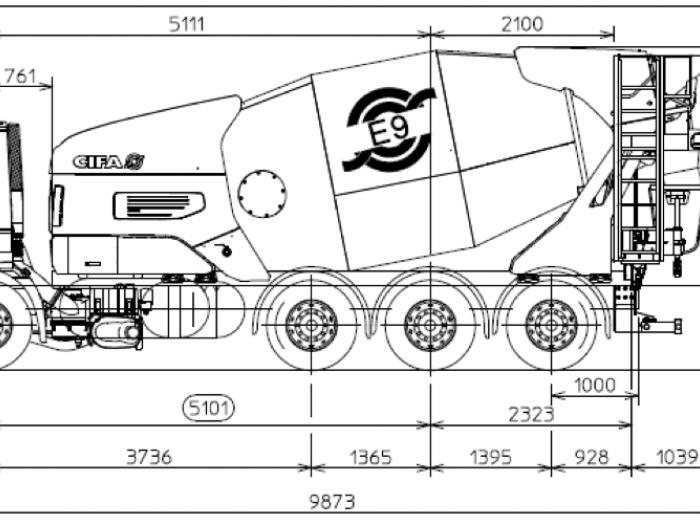 un nouveau camion toupie z ro co2 pour livrer le b ton. Black Bedroom Furniture Sets. Home Design Ideas