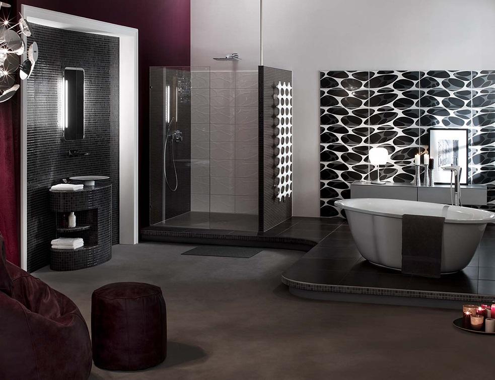 douche de plain pied la solution fundo primo par wedi. Black Bedroom Furniture Sets. Home Design Ideas