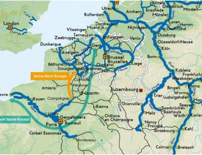 L'Union européenne adoube le canal Seine-Nord Transports - Energie
