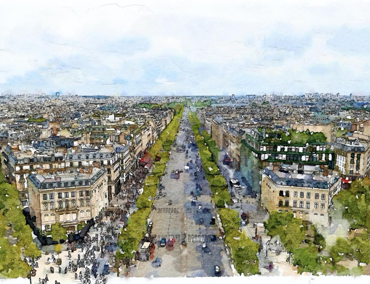 Champs-Elysées: plus de verdure, de piétons et de commerces de