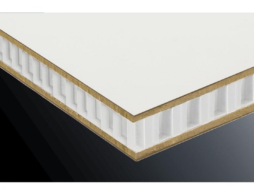 nidaplast composites pr sente un meuble ultra l ger en panneau. Black Bedroom Furniture Sets. Home Design Ideas