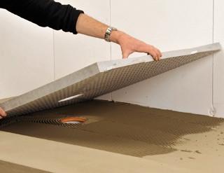 les panneaux pr ts carreler un march porteur solutions. Black Bedroom Furniture Sets. Home Design Ideas