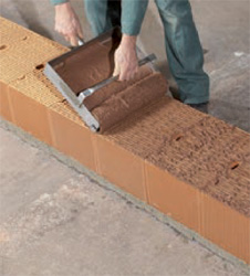 La brique de terre cuite les volutions du dtu for Mortier pour brique de verre