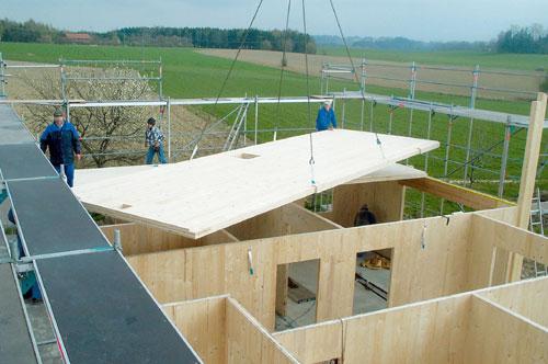 Comment sur lever ou agrandir avec une ossature bois solutions for Agrandir sa maison sans permis de construire