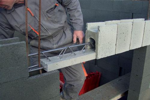 Un nouveau syst me pour s curiser les linteaux mise en oeuvre - Comment faire de la barbotine de ciment ...