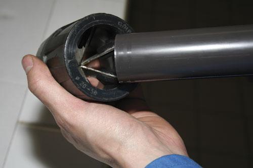 Bien coller du tube pvc mise en oeuvre plomberie technique - Operation couper l estomac pour maigrir ...