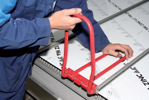Joint debout comment allier technique et esth tique mise en - Comment plier du zinc ...