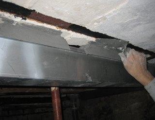 Renforcer un plancher poutrelle dans une cave parisienne for Difference entre beton et mortier