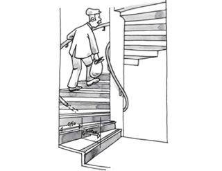 escaliers neufs n oubliez pas les r gles d accessibilit. Black Bedroom Furniture Sets. Home Design Ideas