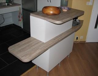 Agencer une cuisine pour personnes handicap es mise en oeuvre for Amenagement cuisine pour handicape