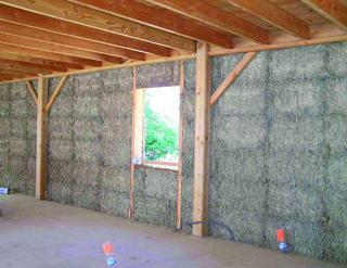 Ecomat riaux la construction en paille ma onnerie normes for Construction de maison en paille
