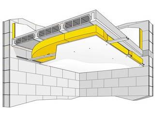 solution 1 isoler plafond et plancher - Isolation Acoustique Plafond Appartement