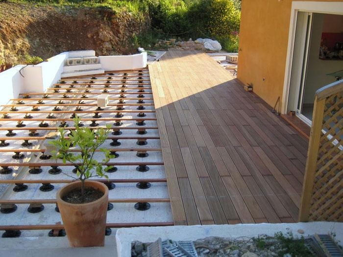 Quels rev tements pour am nager une terrasse solutions for Pierre collee exterieur