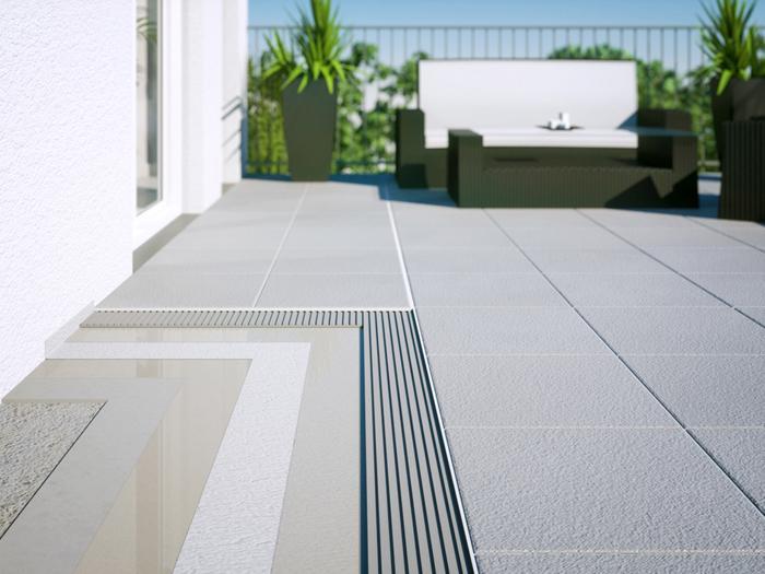 Tanchit Terrasse Carrele Stunning Carrelage Pour L Ext Rieur Et La