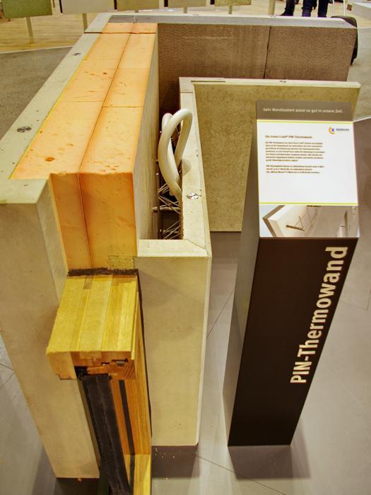 Bau 2015 Briques Monomur Avec Isolation Int Gr E - Isolation Exterieure Mur  Brique .