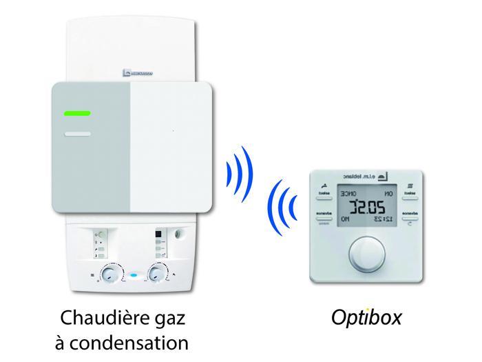 Thermostat pour chaudiere a gaz stunning otio thermostat - Thermostat programmable sans fil pour chaudiere gaz ...